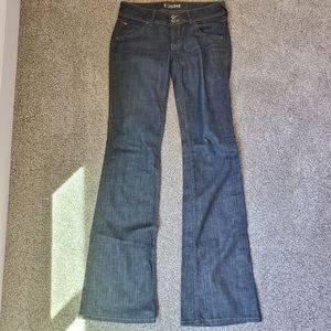Hudson Jeans  Mid-Rise Baby Bootcut Jeans  Size 28